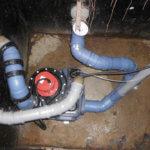 Pump- und Hebeanlage im Schacht