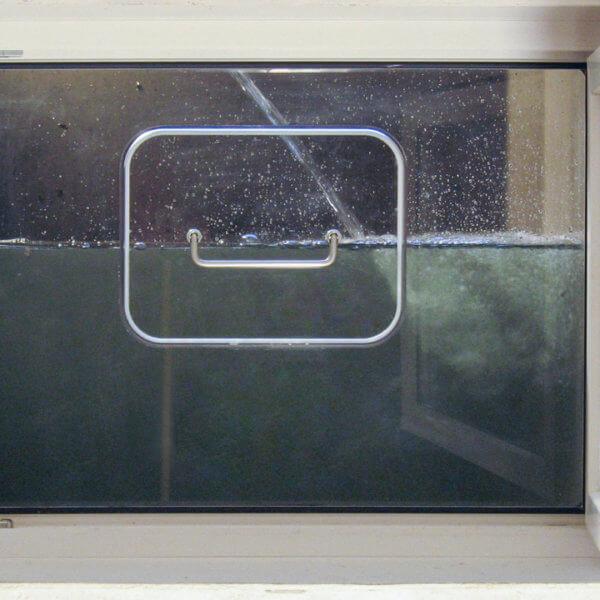 Manuelles Hochwasserfenster