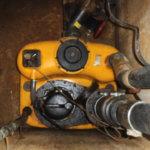 Gereinigte Pump- und Hebeanlage