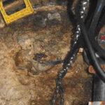 In einer ungewarteten Pumpstation sammelt sich eine unappetitliche Brühe