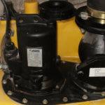 Gewartete Pump- und Hebeanlage