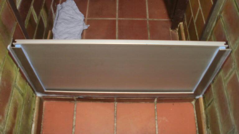 Verriegelte Modulbauplatte