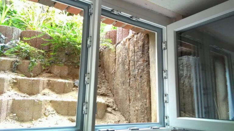 Hochwasserfenster im Keller