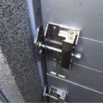 Riegel einer Modulbauplatte im Detail